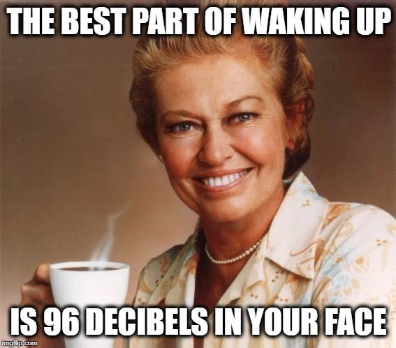 wake up music